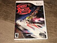 Speed Racer The Video Game Nintendo Wii Brand New Factory Sealed