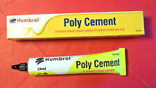 HUMBROL POLY SOLVENTBASED CEMENT FOR PLASTIC MODEL KITS ONLY 24ml  LARGE AE4422