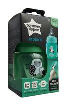 Tommee Tippee Baby Milk Feeding Drink Bottles BPA Free 150ml Green