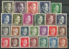ALEMANIA Scott# 506/527 529 + Extra Nuevos y usados Hitler básica