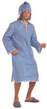 Scrooge Old Man Nightshirt Grandad Pyjamas Christmas Xmas Fancy Dress Costume