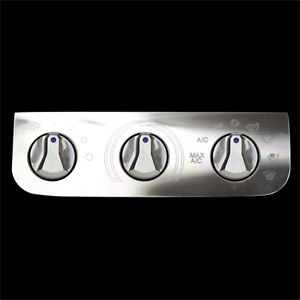 FORD TRUCK AC HEATER BILLET FACEPLATE AND KNOBS A/C