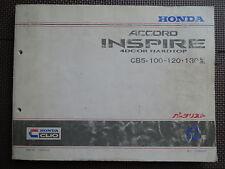 JDM Honda Accord Inspire Original Genuine Parts List Catalog CB5