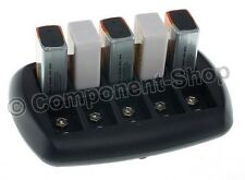 Intelligent Chargeur de Batterie Pour 10x PP3 8.4 V (9 V) NiCd Piles NiMH. UK Plug