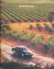 1995 Oldsmobile Cutlass Supreme Car Sales Brochure Catalog - Convertible