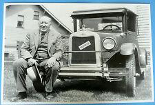 "12 By 18"" Black & White Picture 1926 Chevrolet Landau Coupe"