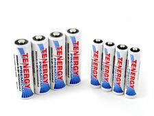 Combo: 8 pcs Tenergy Premium NiMH Rechargeable Batteries (4AA/4AAA)