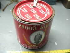PRINCE ALBERT CRIMP CUT 14 oz PIPE  AND  CIGARETTE TOBACCO TIN