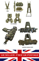MTP Multicam Airborne PLCE Webbing Set Yoke Battle Belt Military Airsoft Army UK