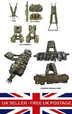 MTP Multicam Airborne PLCE Webbing Set Yoke Battle Belt Military Airsoft Army UK