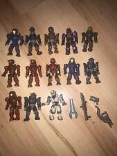 halo mega bloks figures bundle