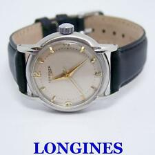 Vintage S/Steel LONGINES 17J  Winding Watch c.1960's Cal 23 ZS* EXLNT* SERVICED
