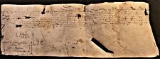 KING OF FRANCE CHARLES IX AUTOGRAPH, Son Catherine de Medici and Henri II - 1570