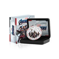 Marvel Gifts Avengers Endgame Collectable Limited Edition Silver Luxe Coin