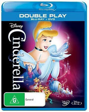 CINDERELLA (DISNEY) - BLU-RAY (ONLY) - RB - BRAND NEW - (DVD NOT INCLUDED)