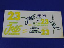 Hut Stricklin #23 1994 Smokin' Joe's Camel Ford Thunderbird 1/24 Model Decals