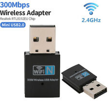 300M Mini USB WiFi Dongle 802.11 b/g/b Wireless Network Adapter for Laptop PC🔥