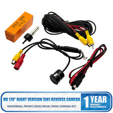 170° CMOS Car Front/Side/Rear View Backup Camera ReverseNight Vision Waterproof