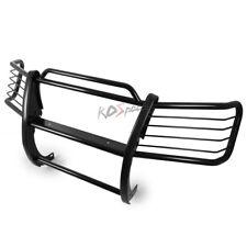 Black Mild Steel Brush Grille Guard Frame Bar for 02-06 Avalanche W/ Cladding