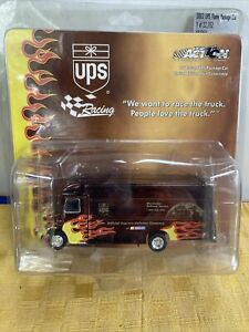 Action Racing UPS Flame Package Car 1/64 Scale Diecast