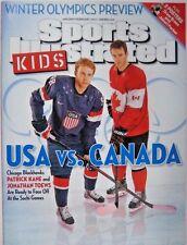 Jan/Feb 2014 Patrick Kane vs Jonathan Toews Sports Illustrated For Kids NO LABEL