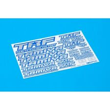 Tamiya 42237 TRF Sticker C Blue Border Mirror Finish