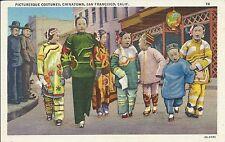 Chinatown costumes San Francisco California USA