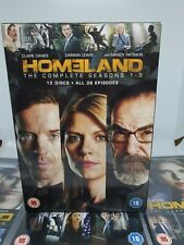 HOMELAND COMPLETE SEASONS 1 - 3 DVD BOXSETS