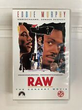 Eddie Murphy RAW VHS Video Tape English with dutch subs  Clamshell New Sealed