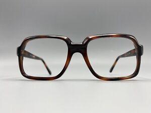 XL 1980's Men's RUN DMC style Tortoise 52-20-145 Eyeglass New Old Stock