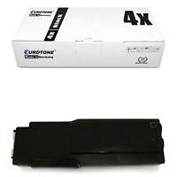 4x ECO Toner BLACK XXL für Dell C-2665-dnf C-2660-dn