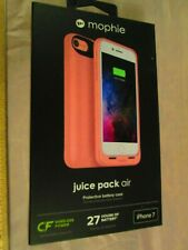 New Rose Gold Mophie Juice Pack Air Protective Battery Case for Apple iPhone 7