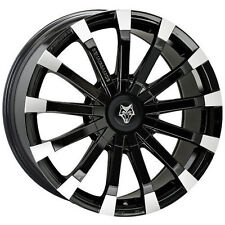 WolfRace Polished Rims with 5 Studs