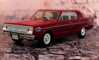 Chrysler Valiant IV 1966 Argentina Rare Diecast Scale 1:43 New Sealed + Magazine