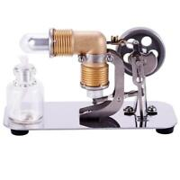 Mini Hot Air Stirling Engine Motor Model Educational Toy Kits Xmas Gift Giving