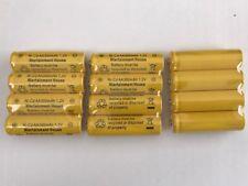 12-pcs1.2v AA (300mAh) Ni-Cd Rechargeable Battery For Solar Light