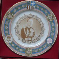 Caverswall commemorative plate- 60th birthday of Prince Philip-1981-COA-Boxed