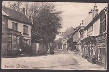 Postcard Bexhill nr Hastings Sussex shops in Old Town posted 1906 publ by Frith