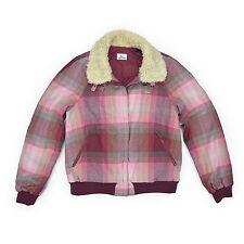Lacoste devanlay señora chaqueta 40 m burdeos a cuadros Woman Jacket Cardigan nuevo