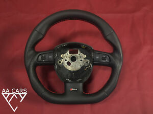 Steering Wheel AUDI A4 B7 S4 RS4 A4 B8 S6 Flat Bottom extra THICK
