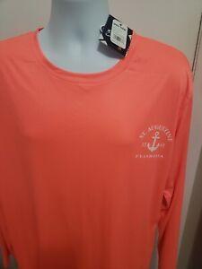 NWT Spicy Tuna Performance Long Sleeve Shirt, Size XL, UPF 40
