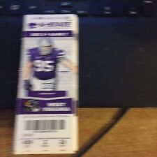 2015 KANSAS STATE WILDCATS VS WEST VIRGINIA FOOTBALL TICKET STUB 12/5
