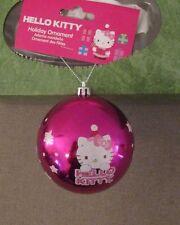 MIP Sanrio Hello Kitty Pink Ball Christmas Ornament