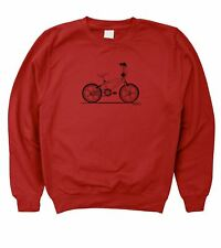 Motorholics Mens Raleigh Burner Retro BMX Sweatshirt S - 5XL