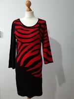 Frank Lyman dress Size M (12  ) red /black