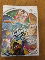 Hasbro Family Game Night Volume 2 Nintendo WII Game