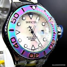 Invicta Reserve Grand Diver Swiss Made 50mm Iridescent Automatic Steel Watch New