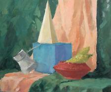 Impressionist still life gouache painting