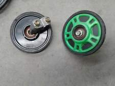 5 1/2 inch idler boggy wheels arctic cat skid mounts x2