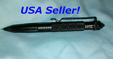 "6"" Aluminum Tactical Pen Glass Breaker Self Defense Military USA SELLER"